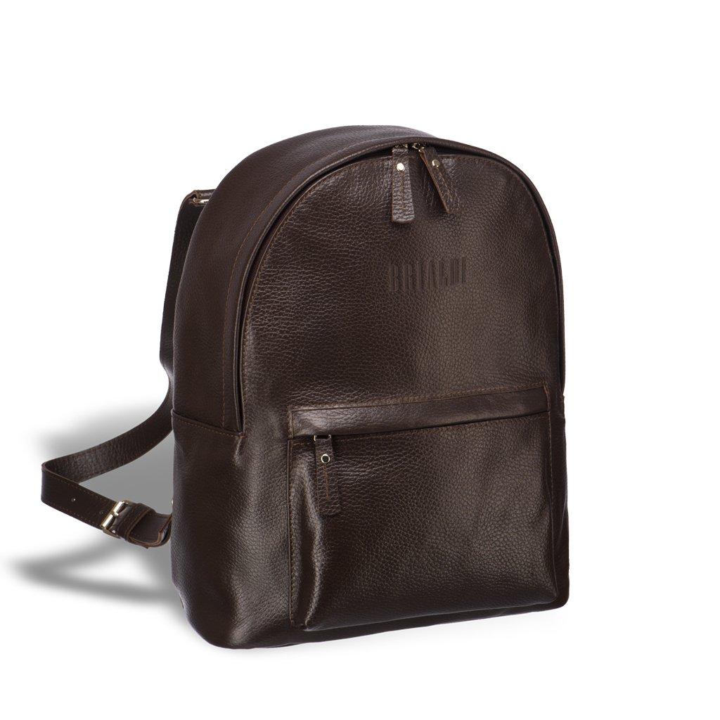 Женский рюкзак-трансформер BRIALDI Esperance (Эсперанс) relief brown