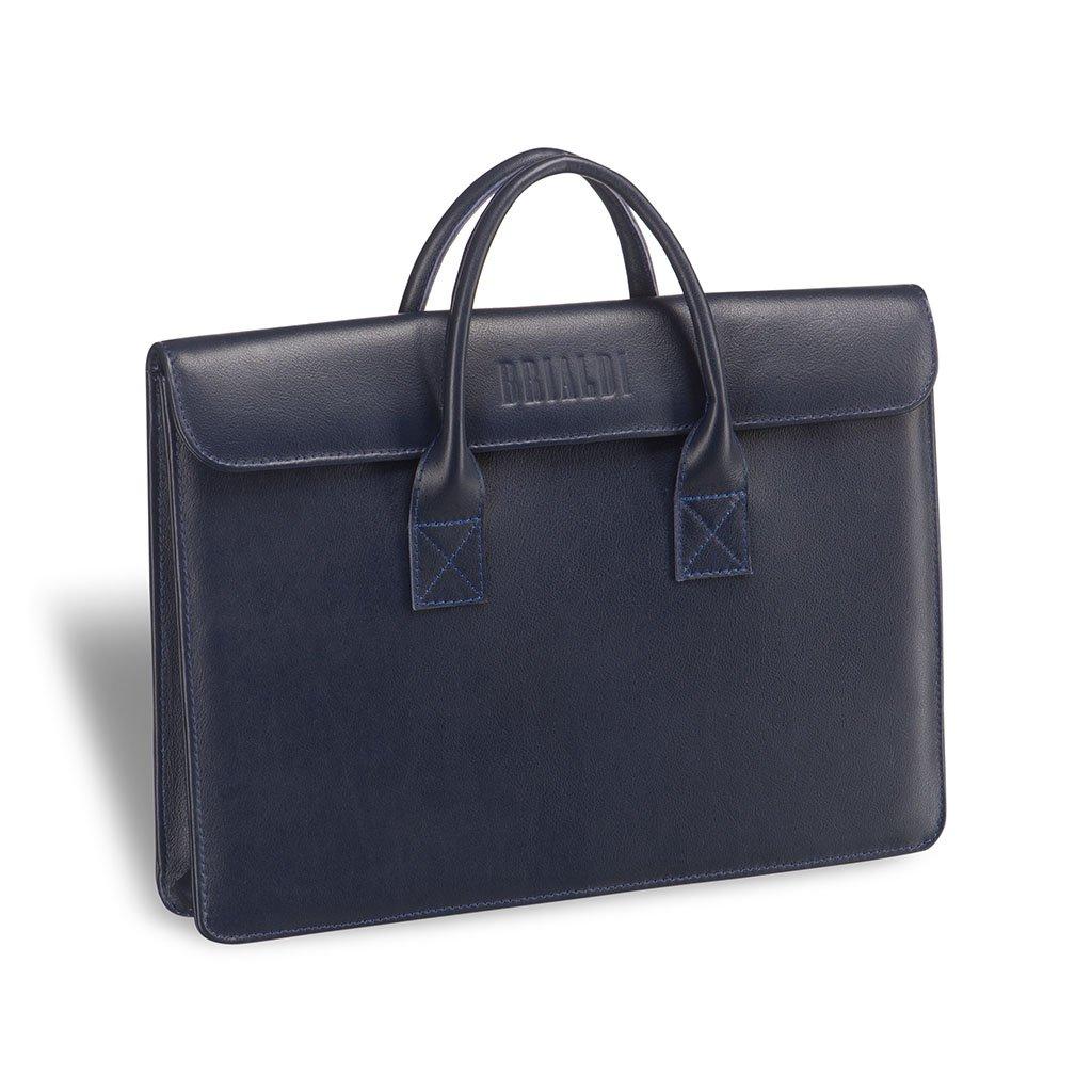 Купить Женская деловая сумка BRIALDI Vigo (Виго) navy, Италия, Синий, Натуральная кожа высококачественной выделки Great Nappa