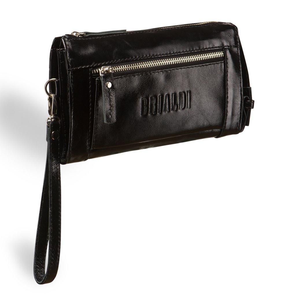 Купить со скидкой Мужской клатч BRIALDI Columbus (Колумбус) shiny black