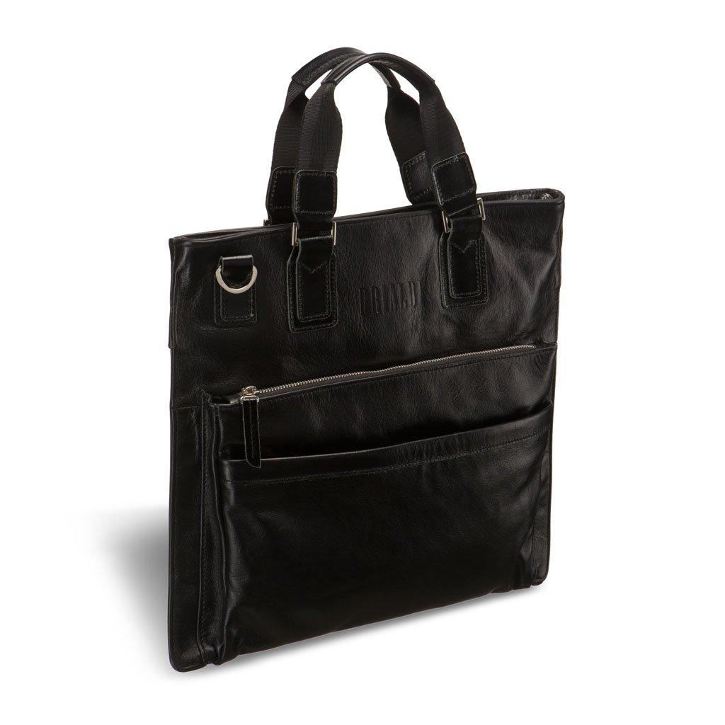 Купить Оригинальная деловая сумка BRIALDI Cavalese (Кавалезе) black, Италия, Черный, Натуральная кожа высококачественной выделки, сорт Great Nappa