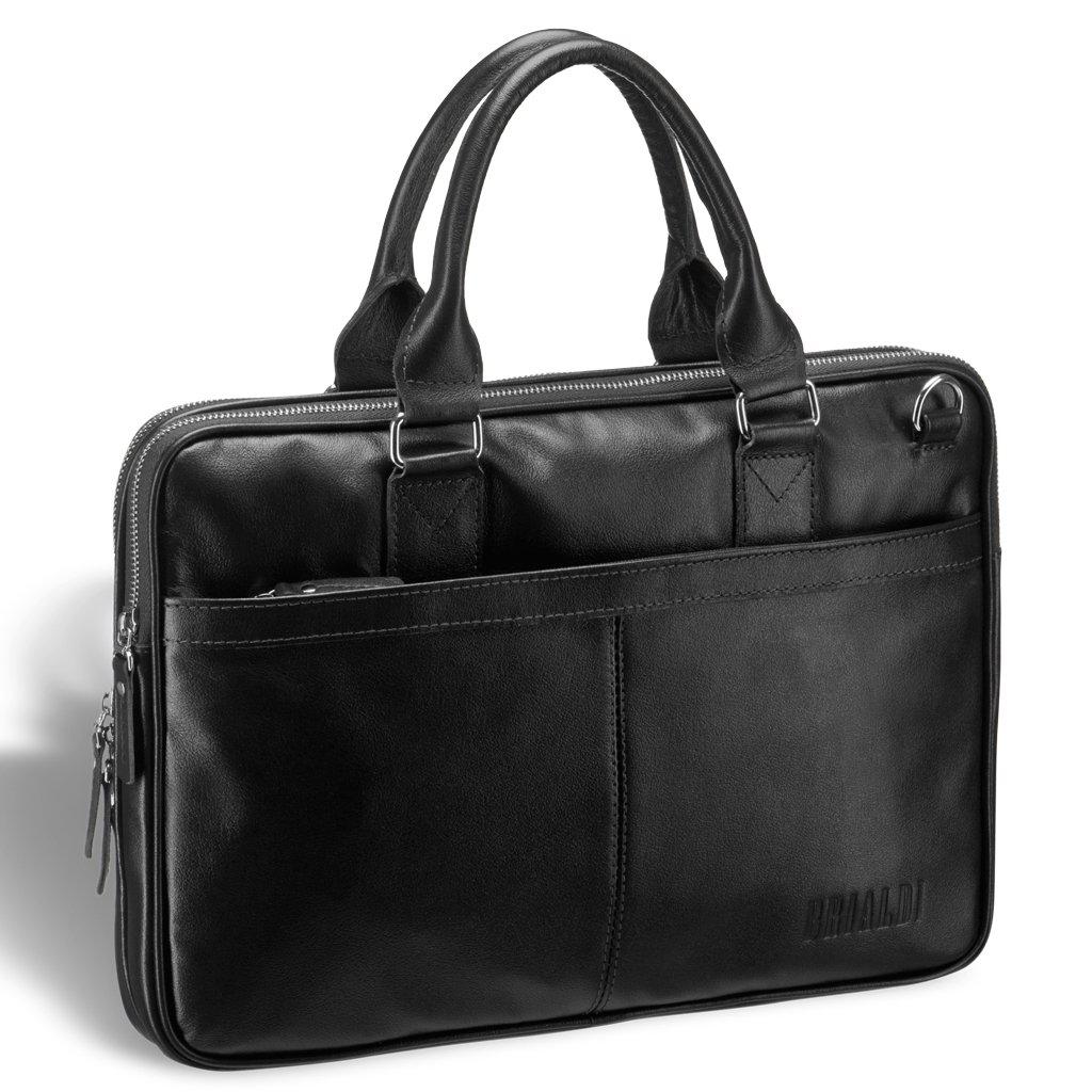 Купить Деловая сумка BRIALDI Caorle? (Каорле) black, Италия, Черный, Натуральная кожа высококачественной выделки, сорт Great Nappa