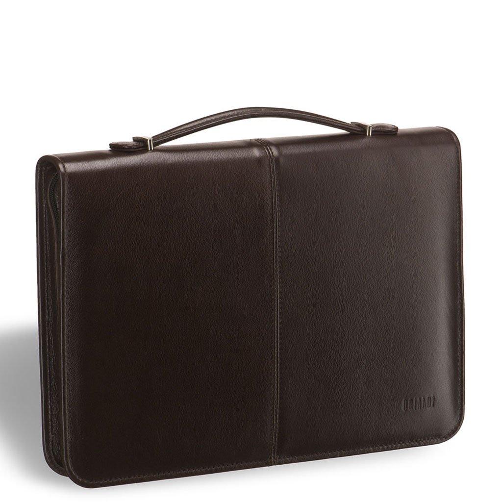 Деловая папка для документов BRIALDI Ravello (Равелло) brown