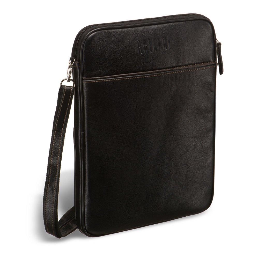 Кожаная сумка через плечо BRIALDI Matelica? (Мателика) black
