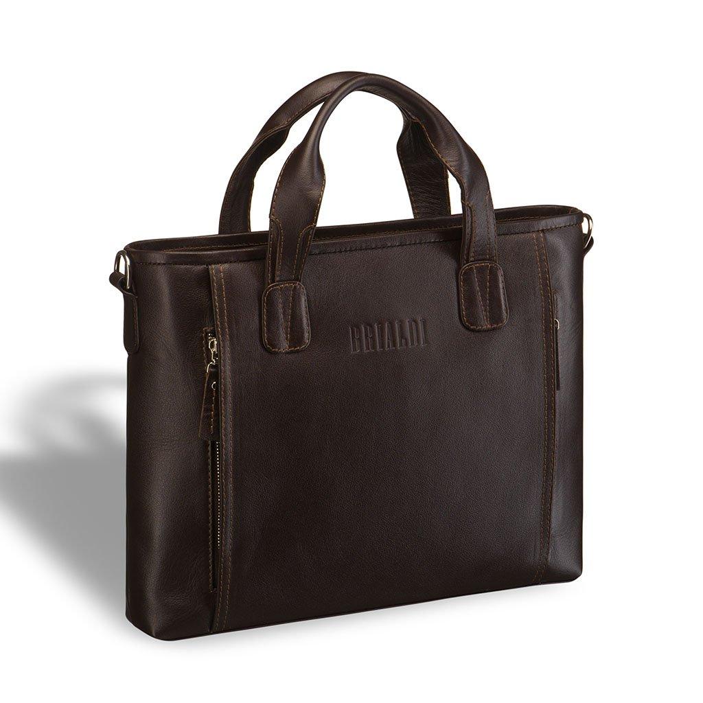Купить со скидкой Деловая сумка BRIALDI Mestre (Местре) brown