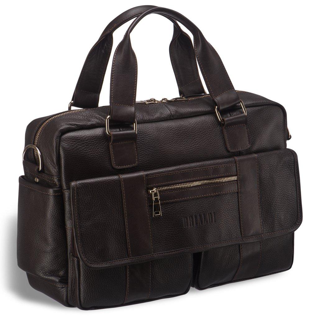 Купить Вместительная сумка для документов BRIALDI King (Кинг) relief brown, Италия, Коричневый, Натуральная кожа высококачественной выделки Canyon