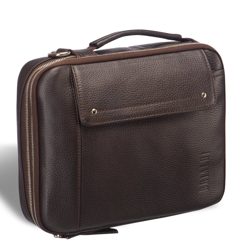 Купить Оригинальная сумка через плечо mini-формата BRIALDI Montone (Монтоне) relief brown, Италия, Коричневый, Натуральная кожа Canyon