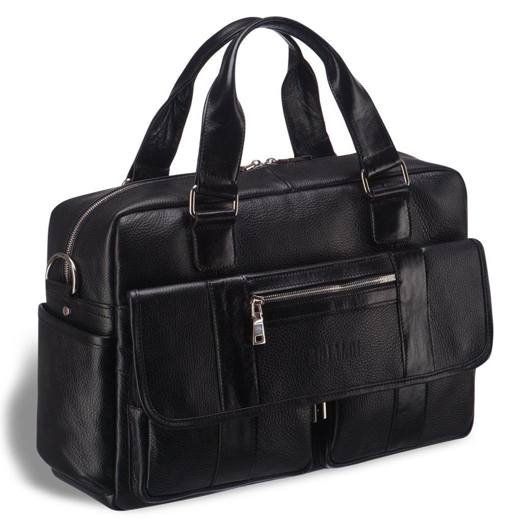 Купить Вместительная сумка для документов BRIALDI King (Кинг) relief black, Италия, Черный, Натуральная кожа высококачественной выделки Canyon