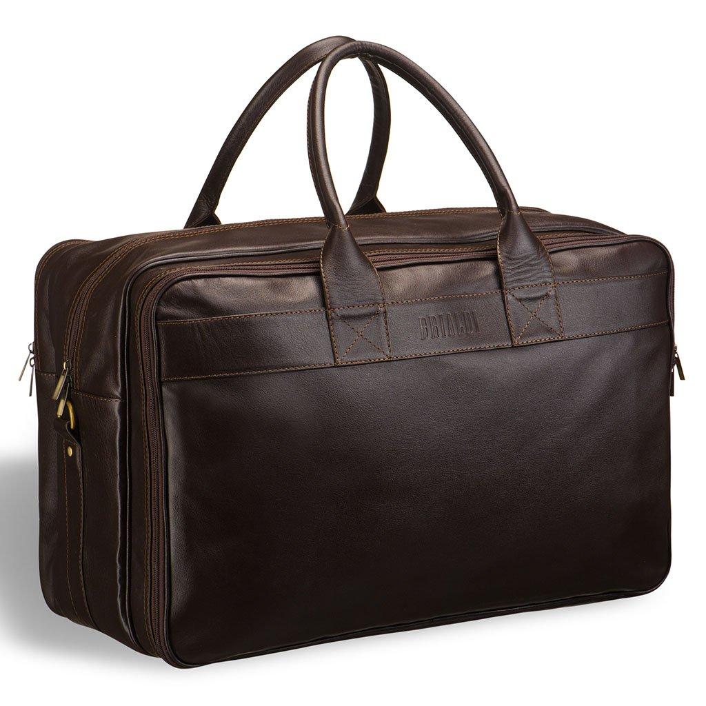 Купить со скидкой Дорожная сумка с портпледом BRIALDI Lancaster (Ланкастер) brown