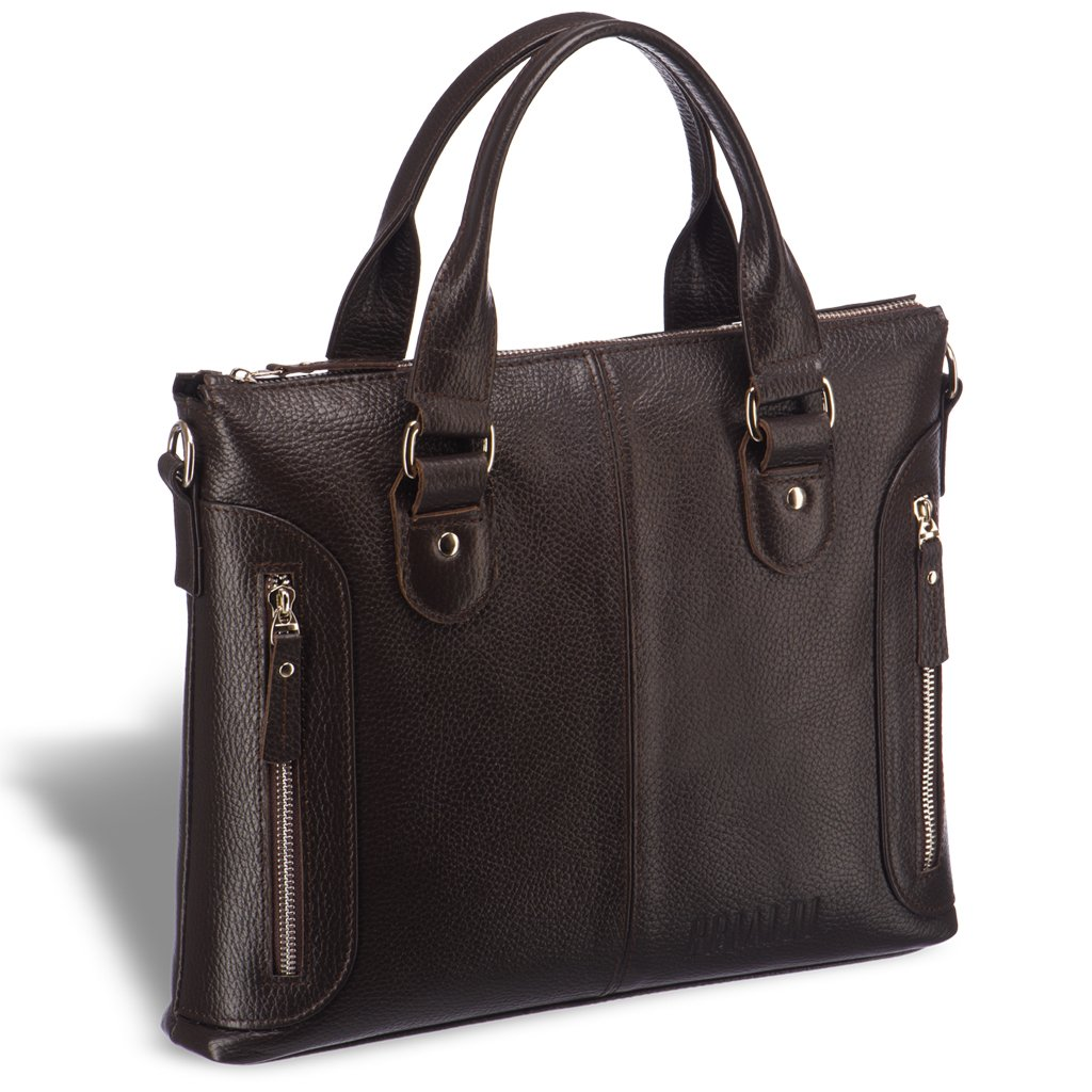 Купить со скидкой Деловая сумка малого формата BRIALDI Abetone (Абетоне) relief brown