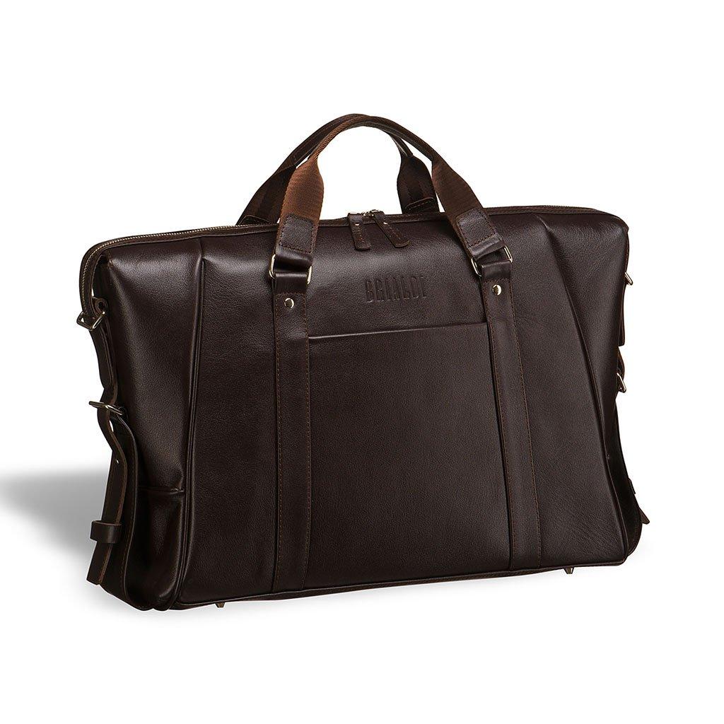 Купить Деловая сумка для архитекторов и конструкторов BRIALDI Valvasone (Вальвазоне) brown, Италия, Коричневый, Натуральная кожа высококачественной выделки, сорт Great Nappa