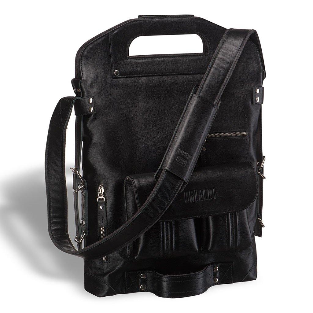 Универсальная сумка BRIALDI Flint (Флинт) black edition