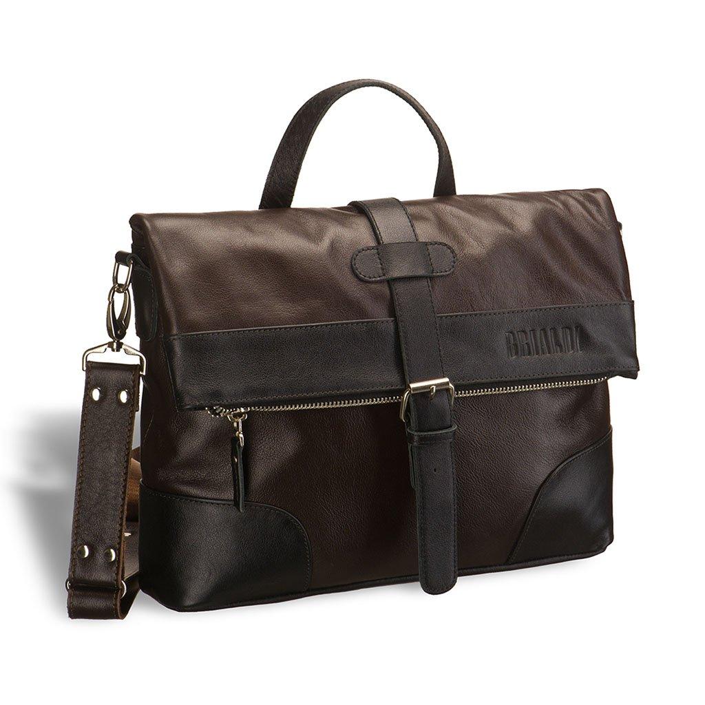 Купить Универсальная сумка BRIALDI Somo (Сомо) brown, Италия, Коричневый, Натуральная кожа высококачественной выделки, сорт Great Nappa