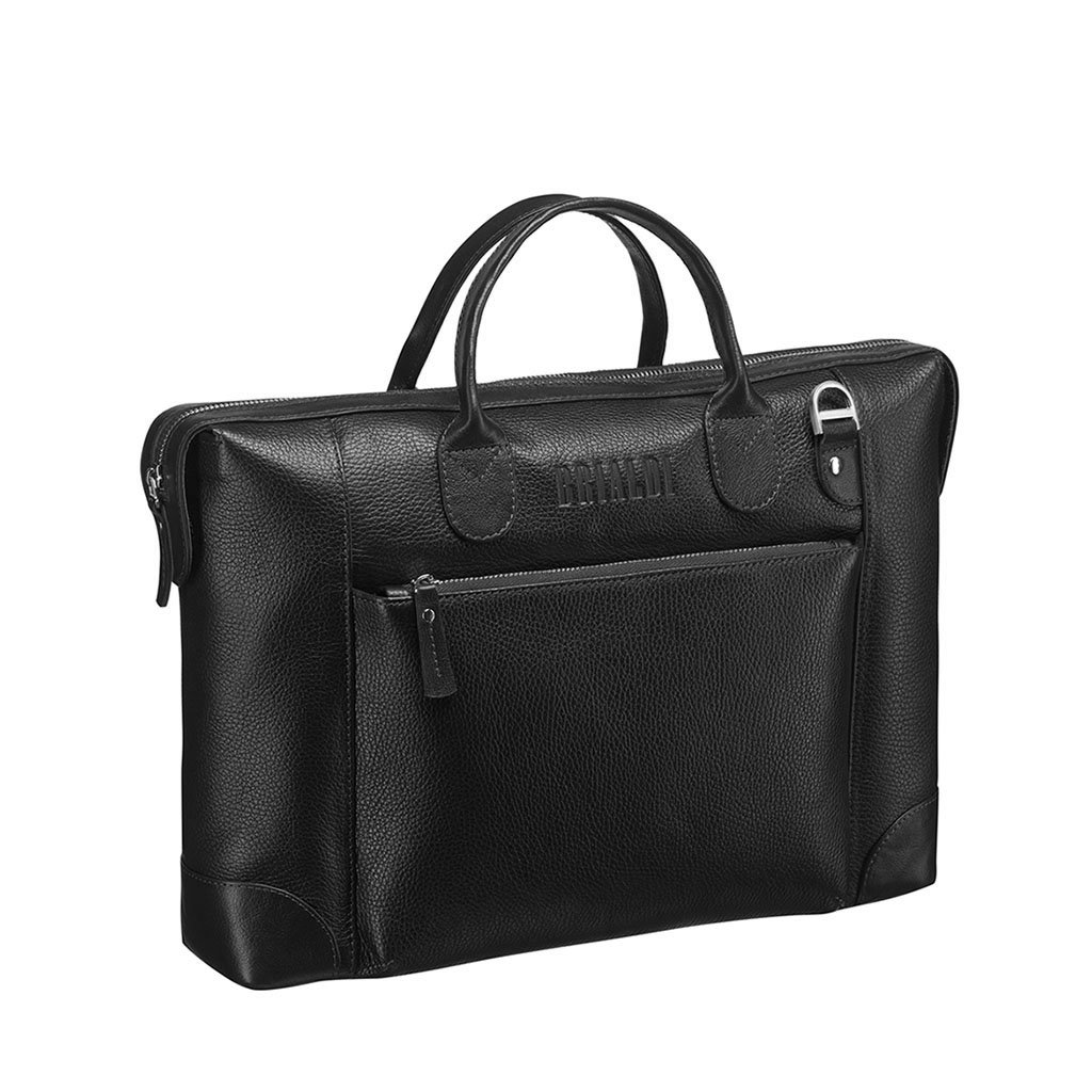 Купить со скидкой Деловая сумка BRIALDI Atlanta (Атланта) relief black