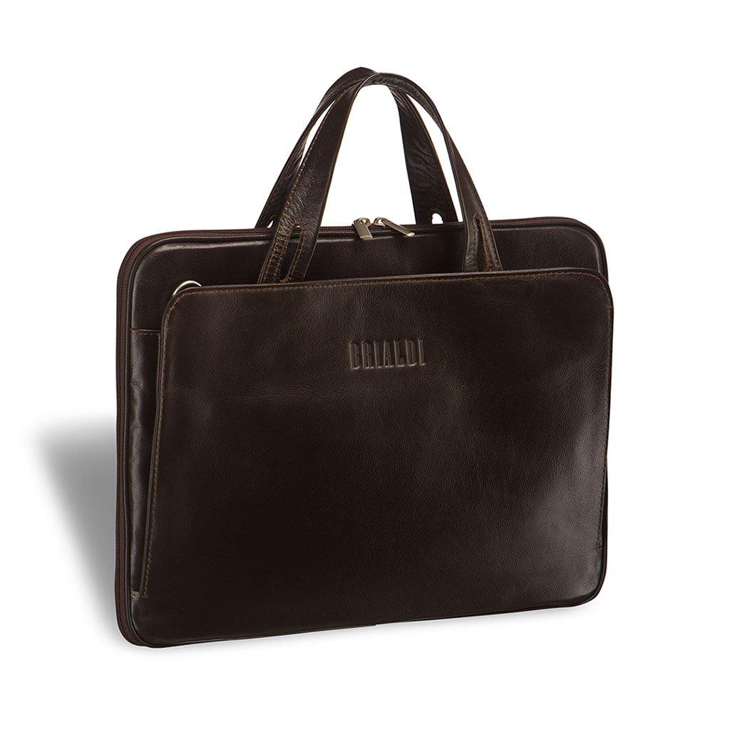 Женская деловая сумка BRIALDI Deia (Дейя) brown