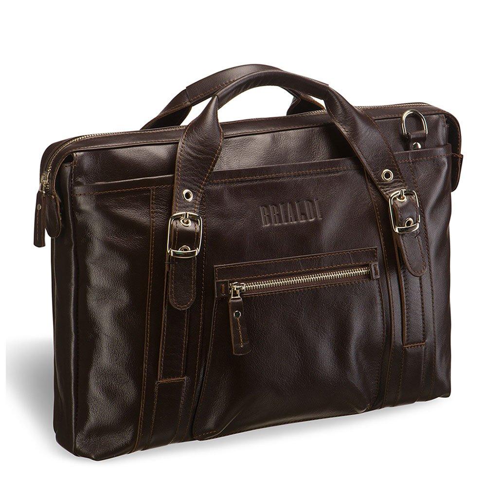 Купить Деловая сумка BRIALDI Navara (Навара) brown, Италия, Коричневый, Натуральная кожа высококачественной выделки, сорт Great Nappa