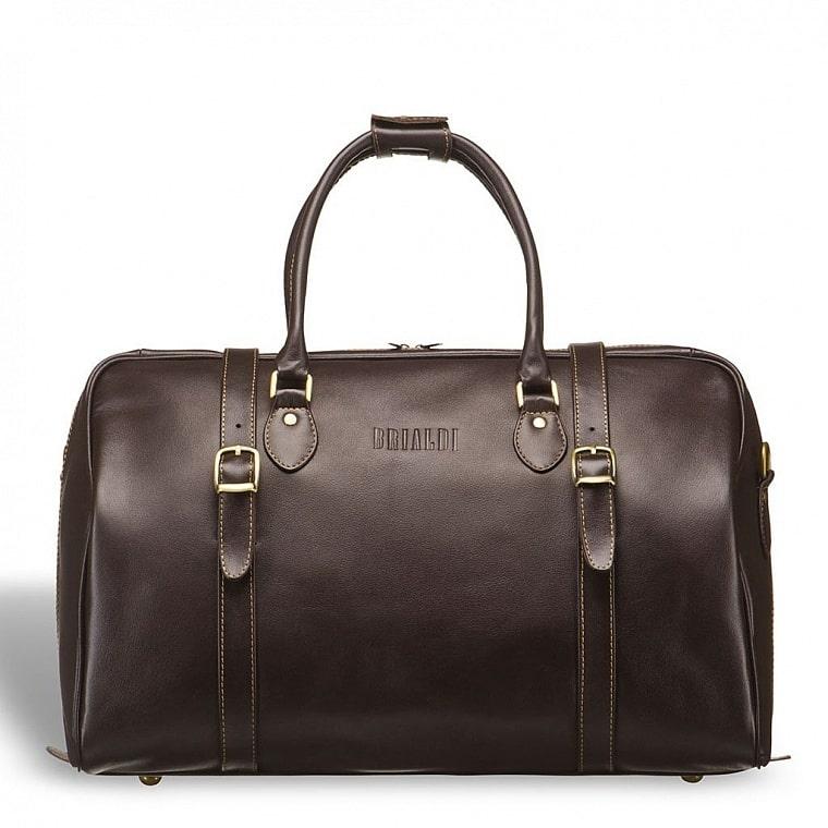 40cc46ff1261 Дорожная сумка BRIALDI Rockford (Рокфорд) brown купить по низкой ...