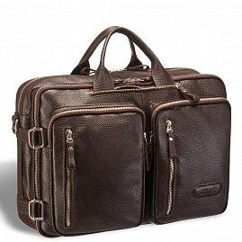 b828626a04b1 Мужская сумка-трансформер BRIALDI Norman (Норман) relief brown ...