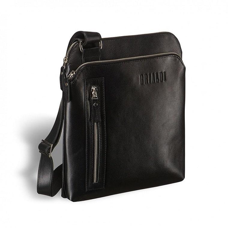 26b7cd62db13 Кожаная сумка через плечо BRIALDI Providence (Провиденс) black ...