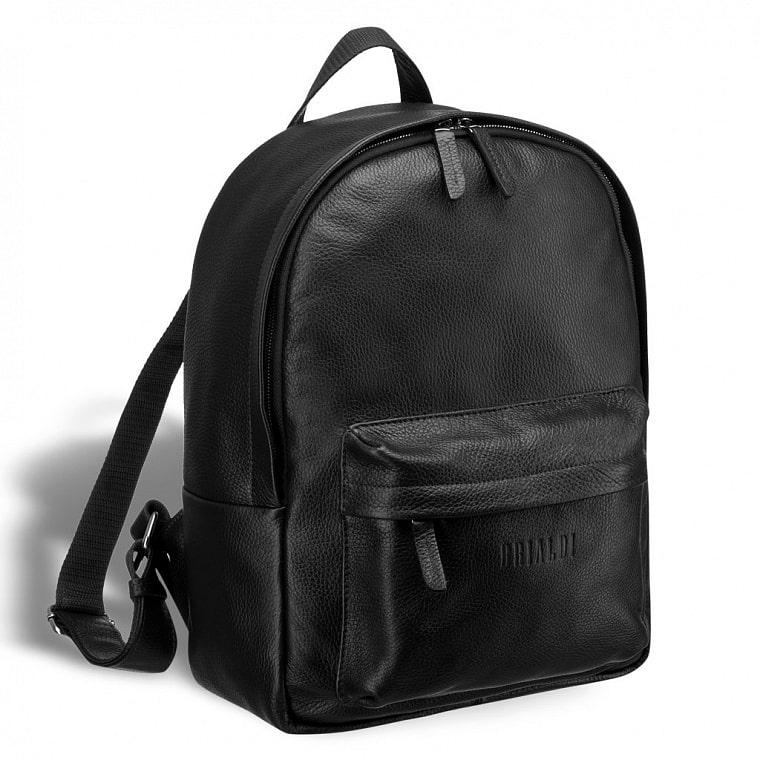 522ae2ec04bd Мужской кожаный рюкзак BRIALDI Pico (Пико) relief black купить по ...