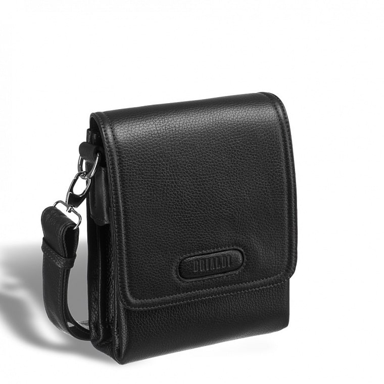 57ea01be80dd Кожаная сумка через плечо BRIALDI Grand Cleveland (Гранд Кливленд) relief  black