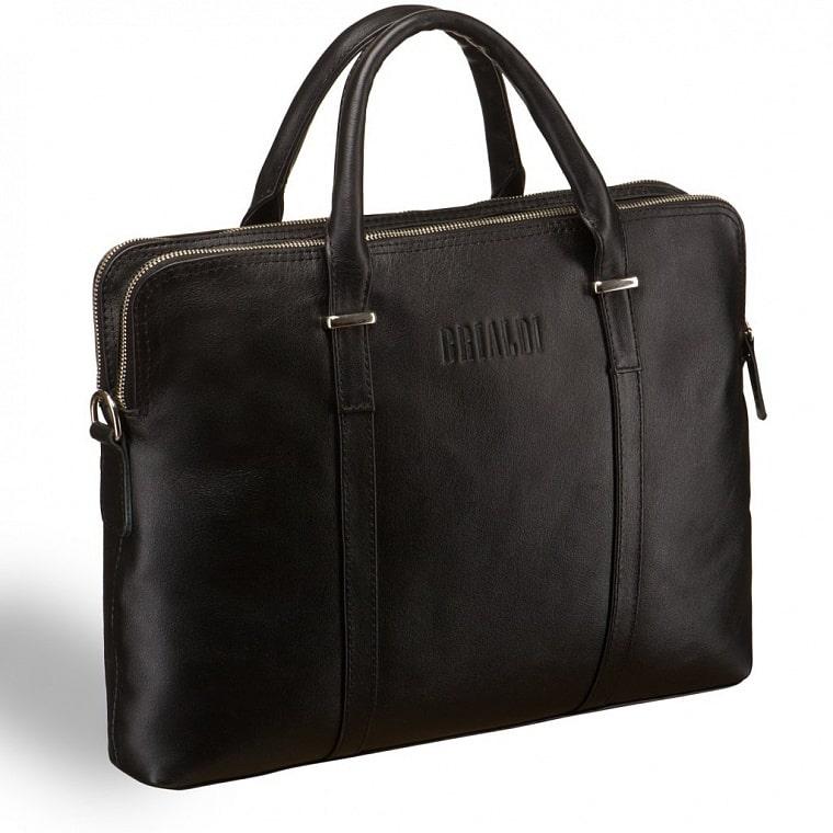 d22bf1967edc Деловая сумка BRIALDI Durango (Дуранго) black купить по приемлемой ...