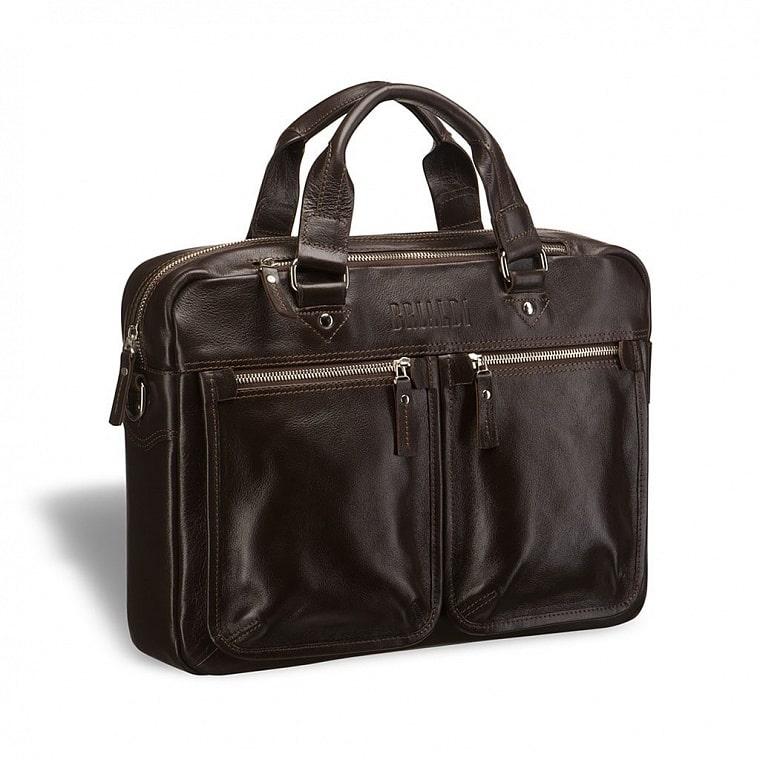5e0222c1172e Деловая сумка для документов BRIALDI Parma (Парма) brown купить по ...