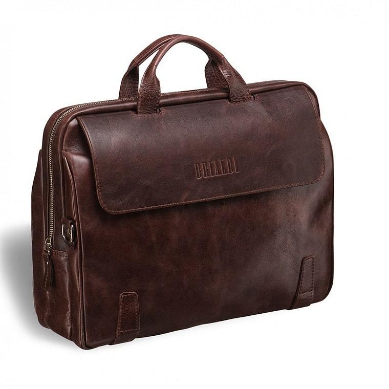7236f9a44ff7 Деловая сумка для города BRIALDI Seattle (Сиэтл) antique brown ...