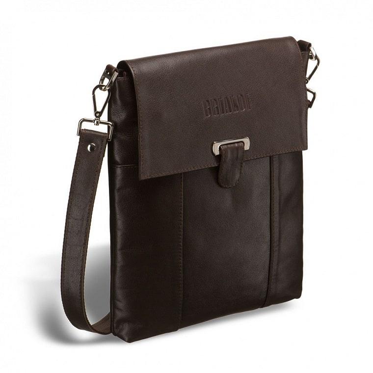 16569707e714 Кожаная сумка через плечо BRIALDI Toronto (Торонто) brown купить по ...