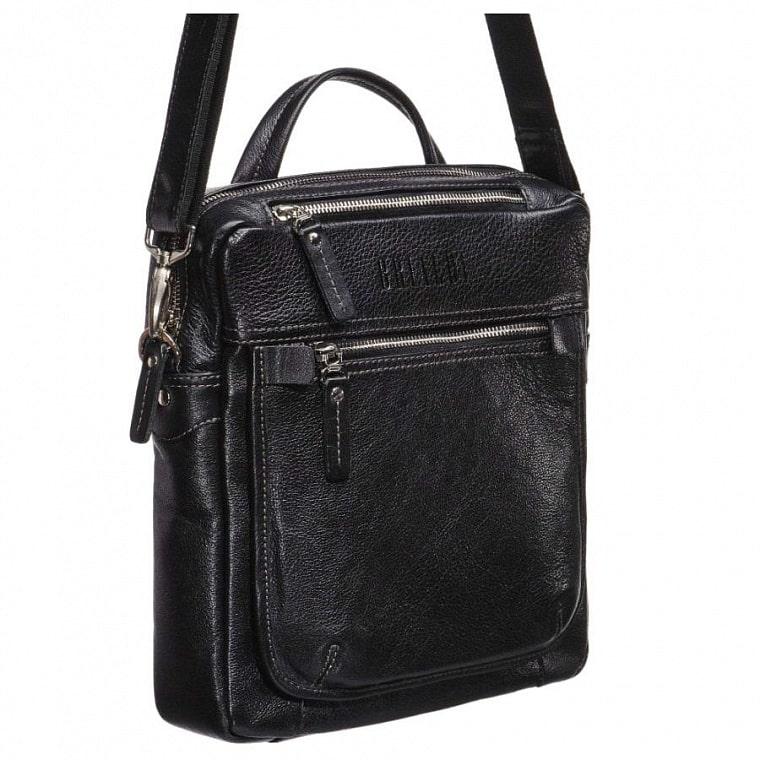 25b84d2accf6 Кожаная сумка через плечо BRIALDI Preston (Престон) black купить по ...