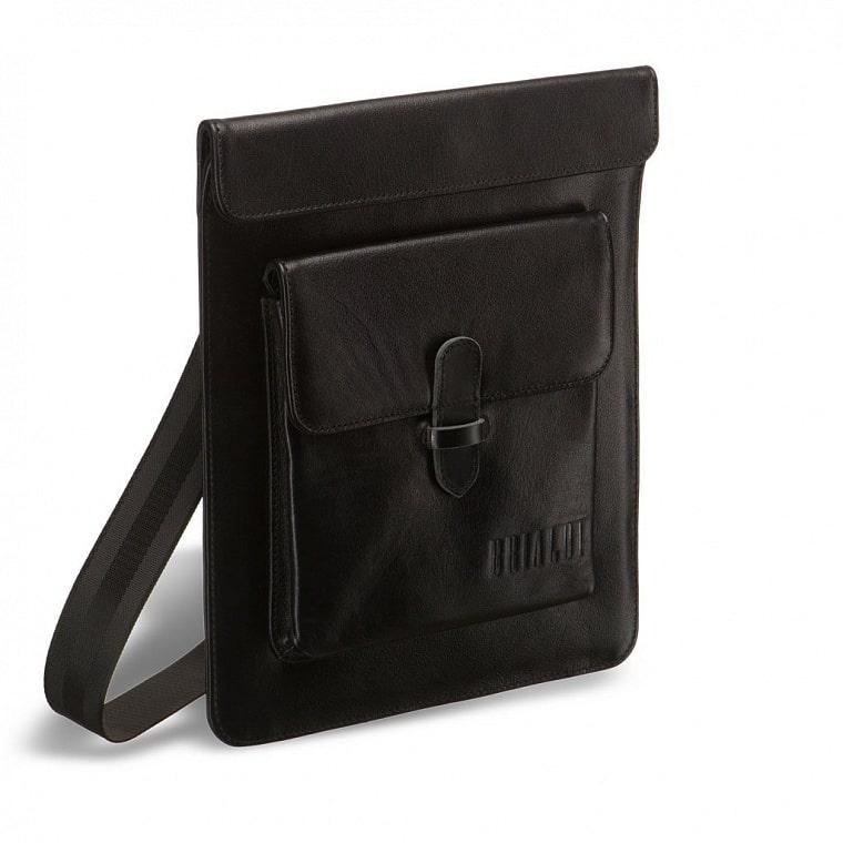 915e834a3a33 Кожаная сумка через плечо BRIALDI Nettuno (Неттуно) black купить по ...