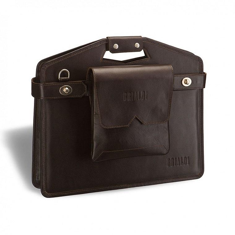 fd7f321858a0 Сумка мобильный офис BRIALDI Madison (Мэдисон) brown – купить по ...