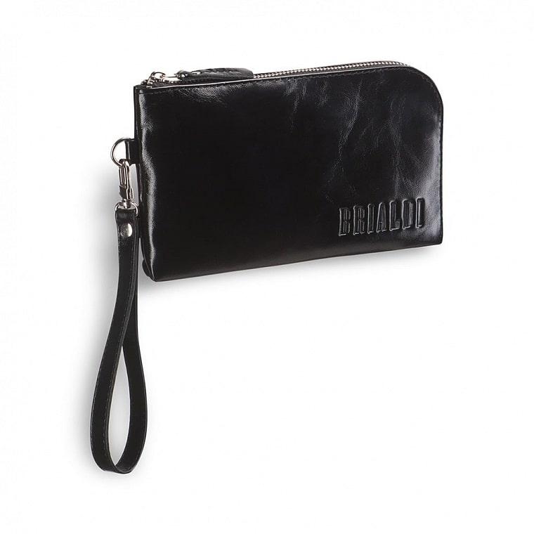 0696bdbfb6f4 Мужской клатч BRIALDI Orlando (Орландо) shiny black купить по ...