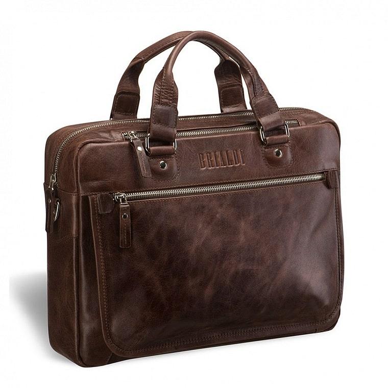 f141317a2471 Деловая сумка BRIALDI York (Йорк) antique brown купить по низкой ...