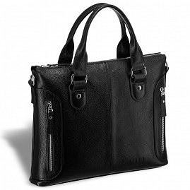 2d938a038b5f Деловая сумка малого формата BRIALDI Abetone (Абетоне) relief black ...