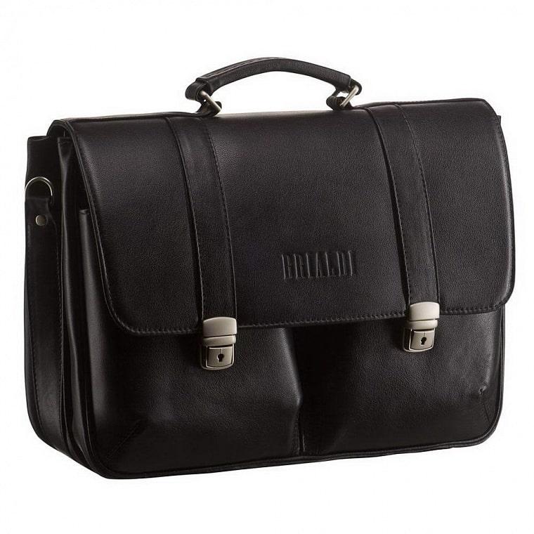 7c70af3226c9 Классический портфель BRIALDI Vasto (Васто) black купить по ...