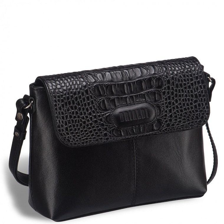 Женская сумочка через плечо BRIALDI Cristo (Кристо) black купить по демократичной цене в интернет-магазине BRIALDI – доставка по Москве.