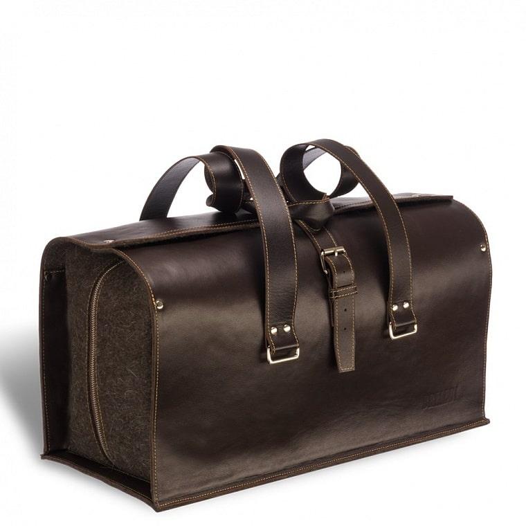 6a4d384f52ef Уникальная дорожная сумка BRIALDI Bonifati (Бонифати) brown купить ...